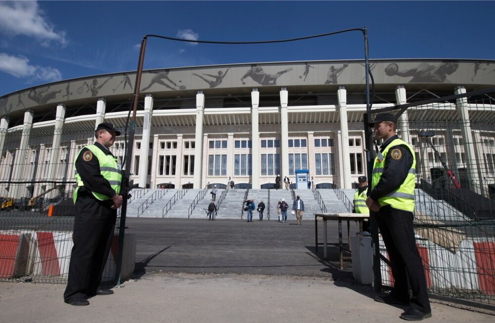 Putin tugevdas Venemaal julgeolekumeetmeid tulevaste jalgpalli suurturniiride ajaks