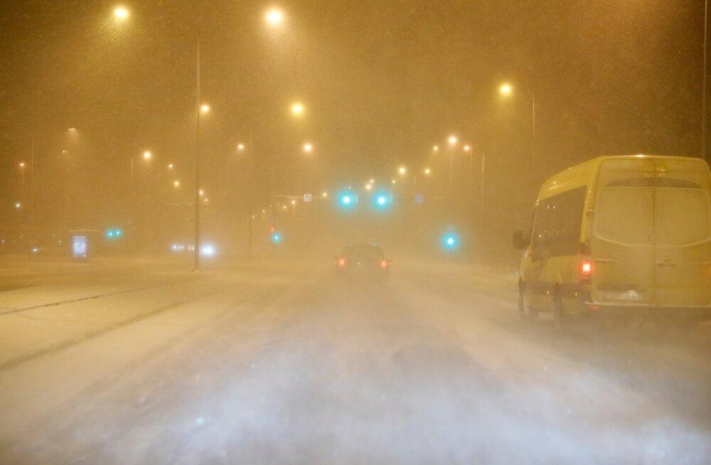 Soome lubatakse homseks lumetormi