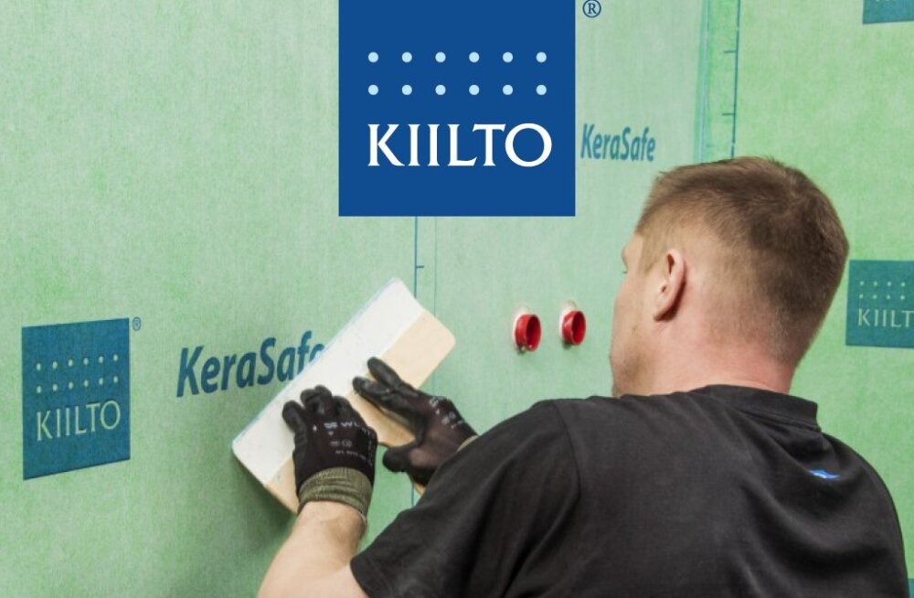 С помощью нового гидроизоляционного решения KeraSafe ремонт ванной происходит за один день!