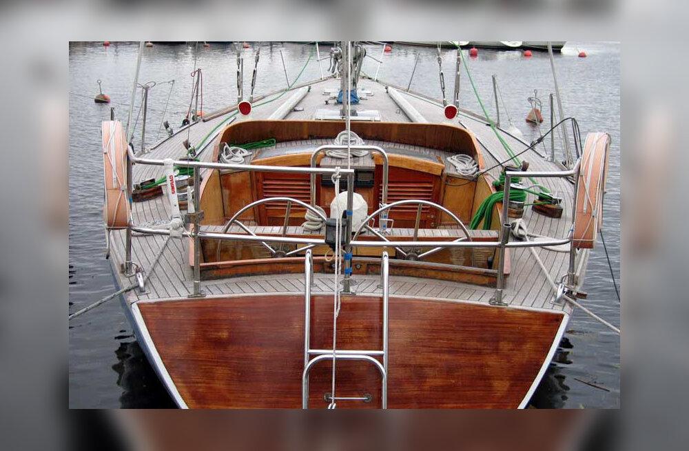 """Принадлежащая городу историческая яхта """"Калев"""" выставлена на продажу"""