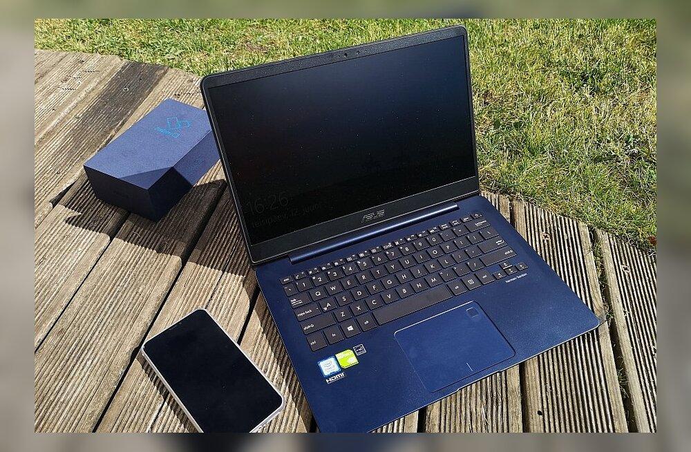 TEST | Asus Zenbook: sülearvuti kui tumesinine unistus