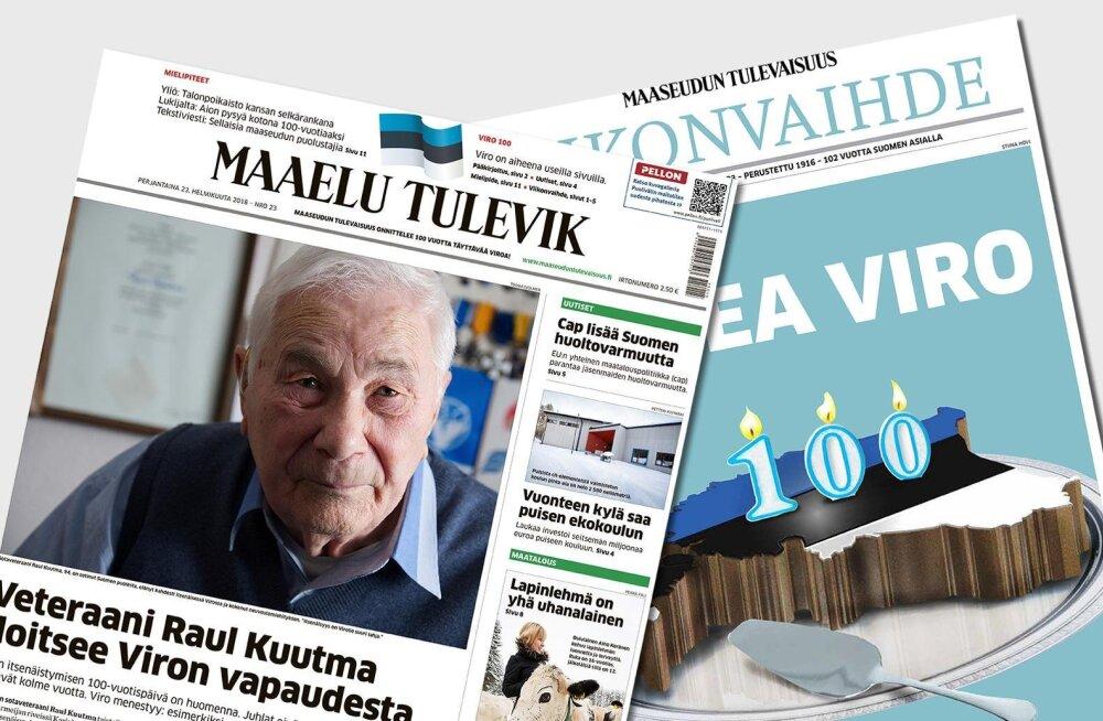 """Soome """"maaleht"""" ilmus täna eestikeelse nimega Maaelu Tulevik"""