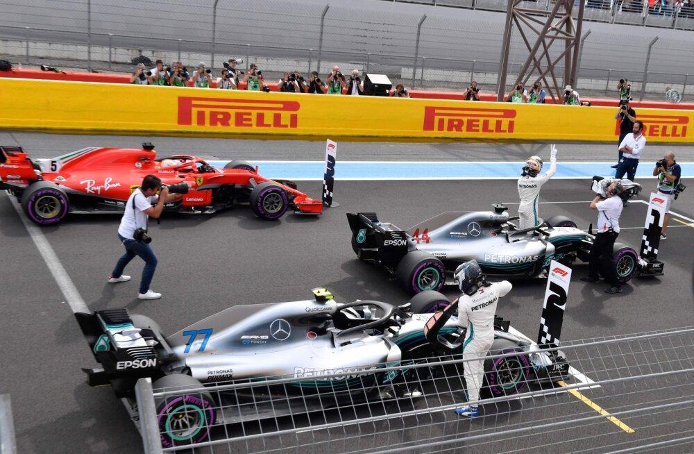 Vormel-1 meeskonnad on mures Prantsusmaa GP boksitee turvalisuse pärast