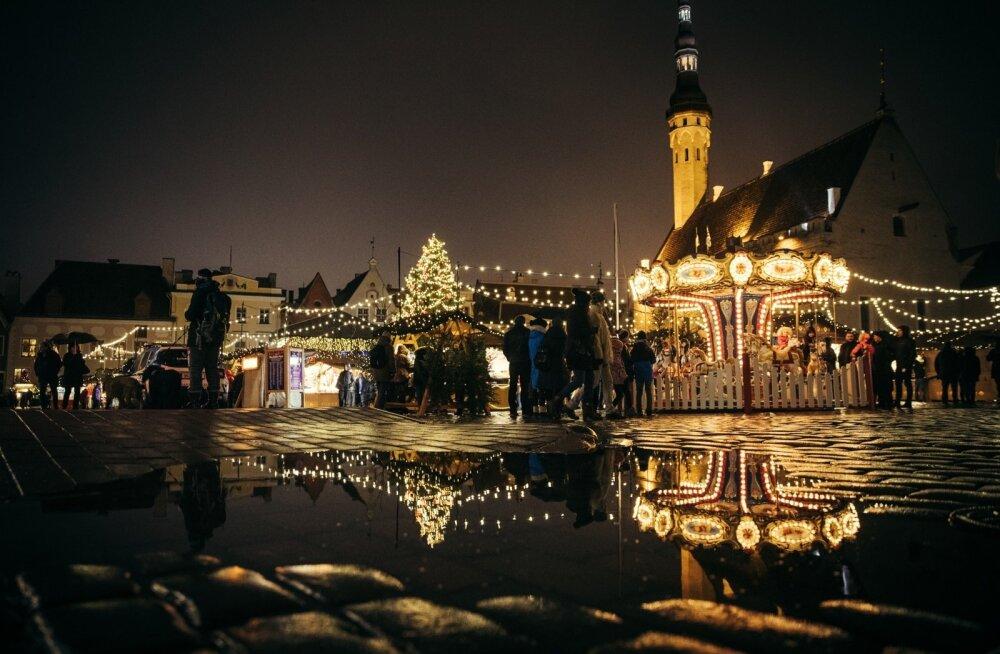 Vesine teine jõulupüha Tallinnas