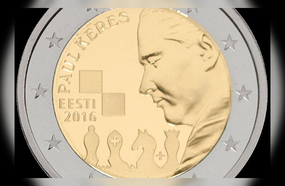 Paul Kerese hiigeltiraažiga juubelimünt on läbi müüdud