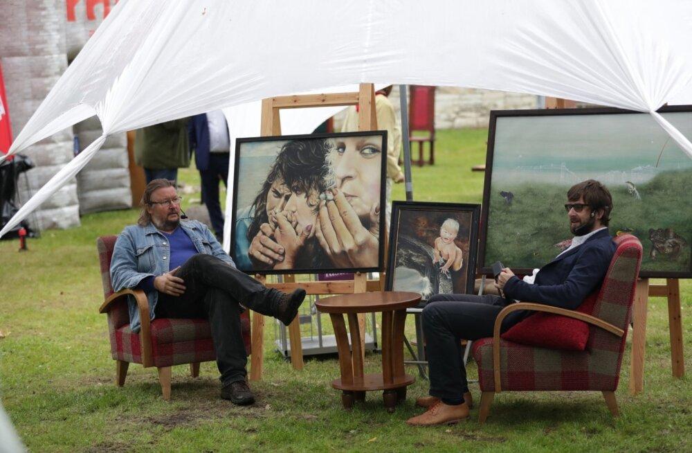 """FOTOD: """"Maalehe maal"""" arvamusfestivalil"""