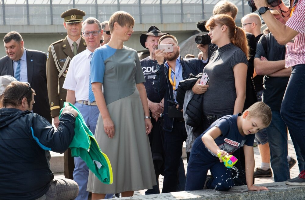 President Kaljulaid Narvas