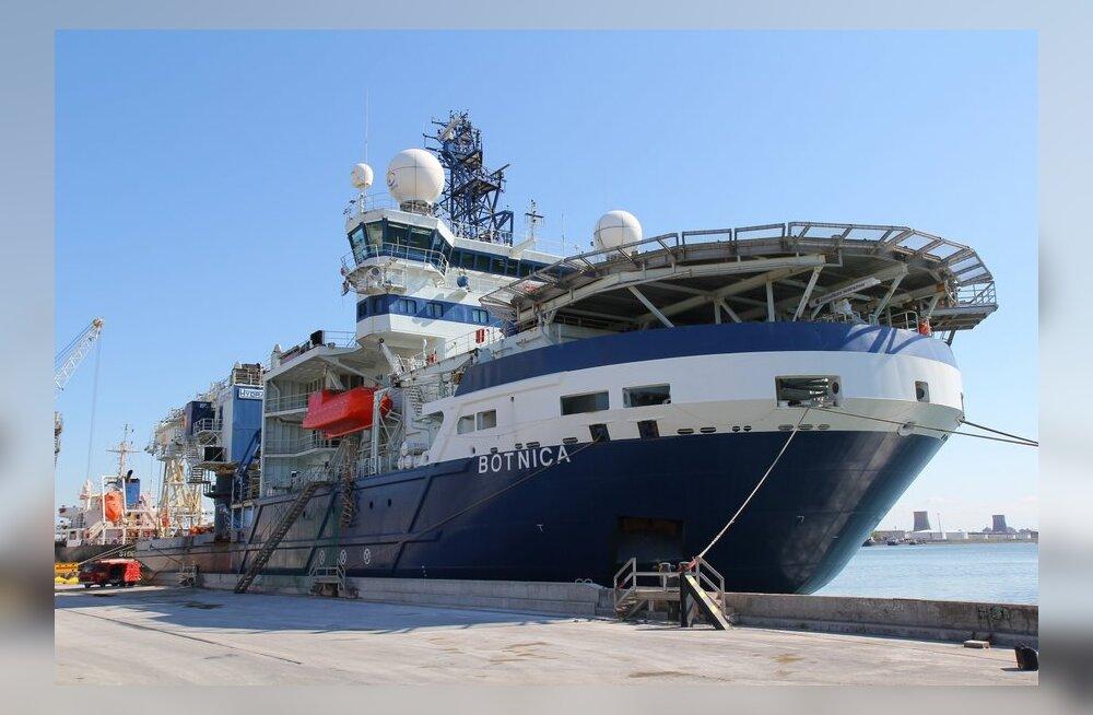 50-miljonit eurot maksma läinud jäälõhkujal MSV Botnica jõuab Eestisse enne jõule.