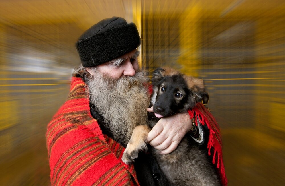 Igor Mang kohtus oma Sulfa-Rikaga aastal 2008 Tallinna Loomade Hoiupaigas. Praegu on seal koduootel ka pildil tähetarga süles olev kutsikas.