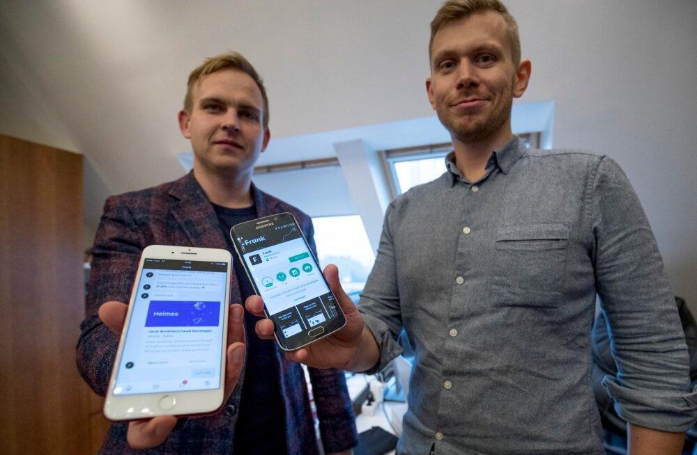 Kaarel Holm ja Anton Narusberg.