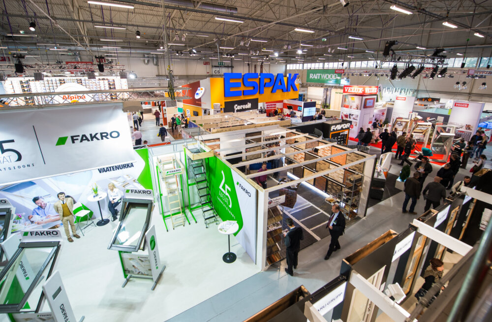 Eesti suurim ehitusmess avab peagi uksed. Ligi 300 firmat tutvustavad uusi materjale ja ehituslahendusi