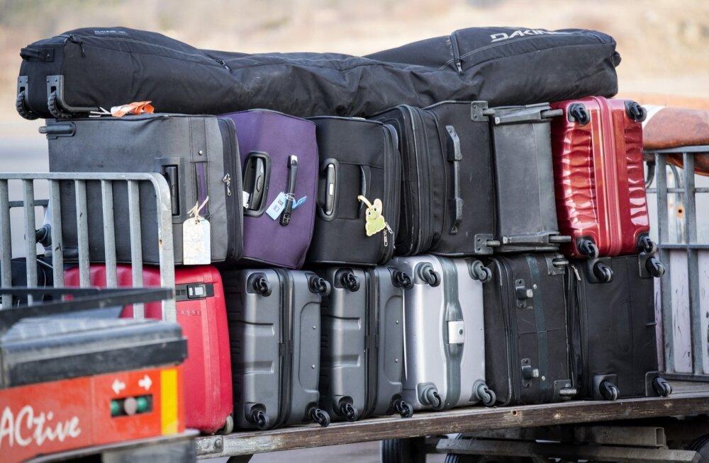 Eestisse reisinud narkokohver sattus Saksamaal valesse lennujaama
