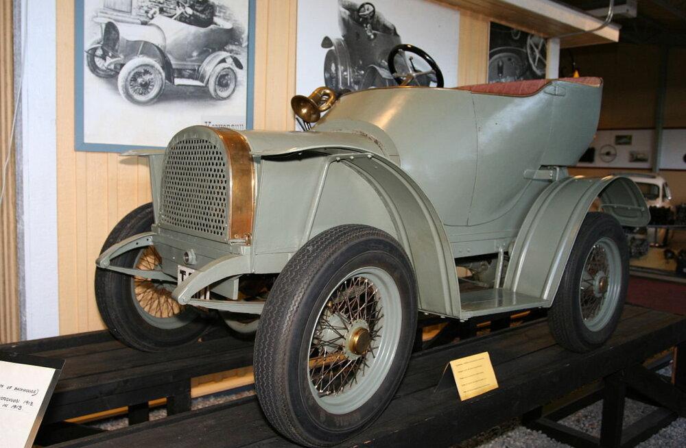 Korvensuu, aastast 1913: esimene Soomes ehitatud auto on sõidukõlbulik siiani