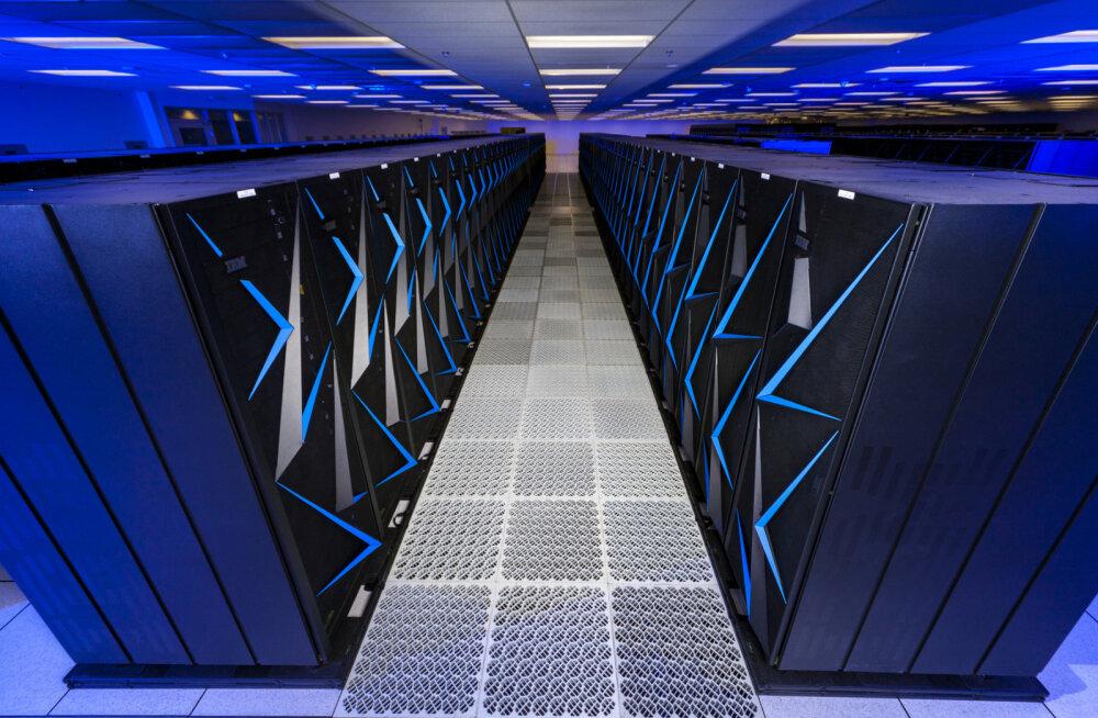 Maailma võimsuselt teine superarvuti ühendatakse salaülesannete täitmiseks võrgust lahti