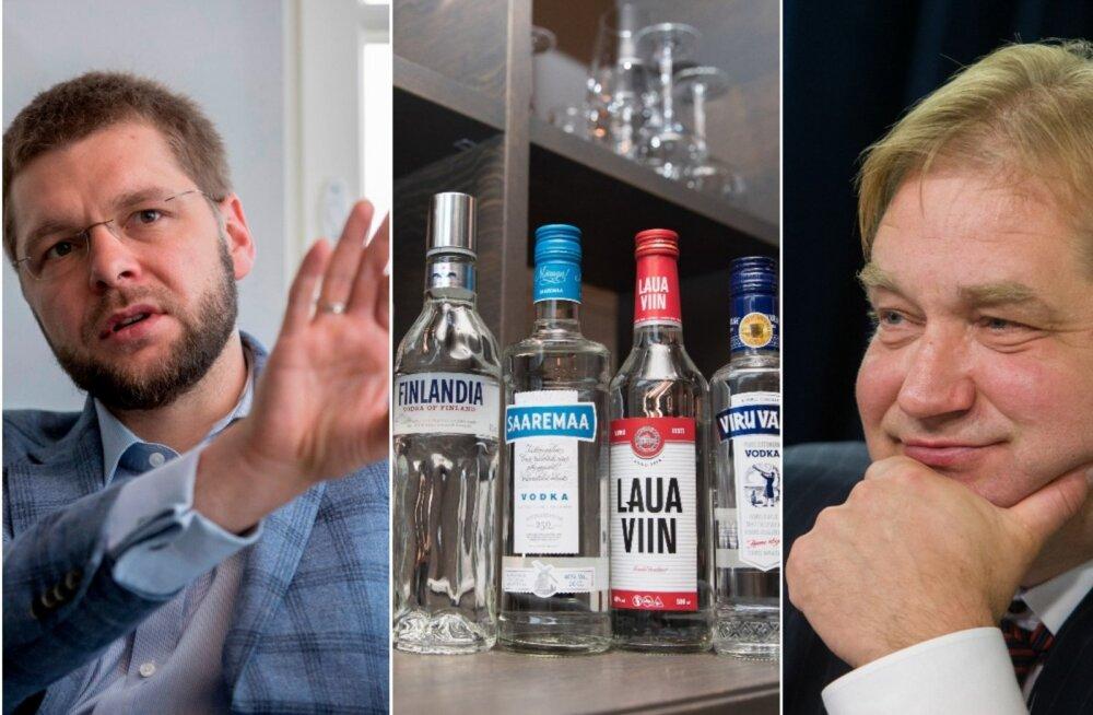 Ivari Padar aktsiisitõusust: arvasin, et aeg, mil liitrite kaupa viina joodi, jäi üheksakümnendatesse