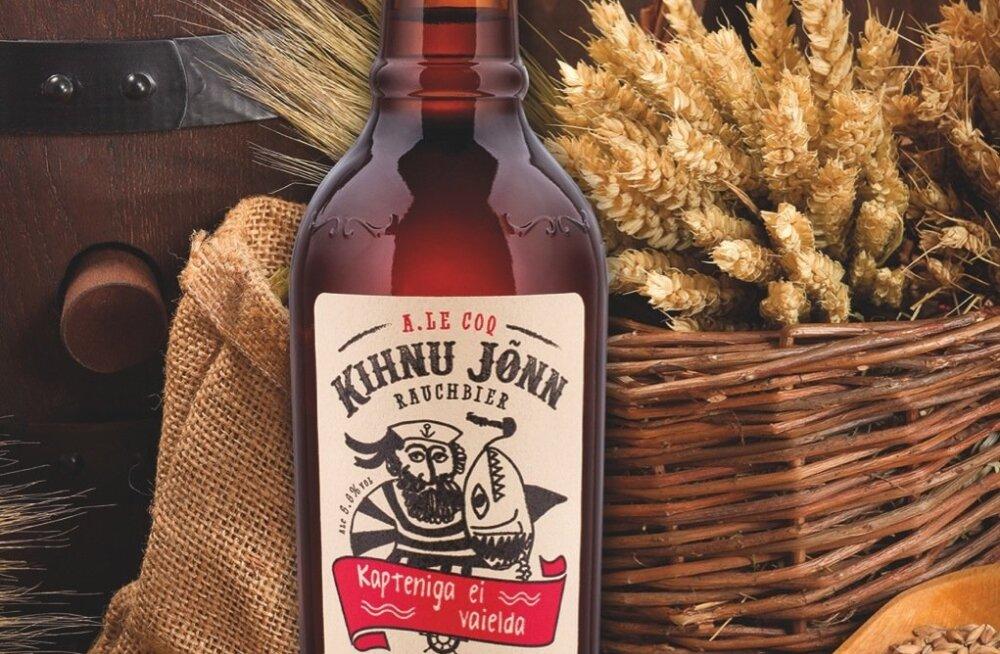 Kihnu Jõnn on A. Le Coqi suitsulinnastest valmistatud õlu.
