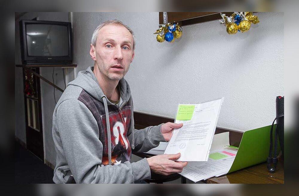 Отец-одиночка жалуется, что его выселили из социального дома из-за долга в 450 евро