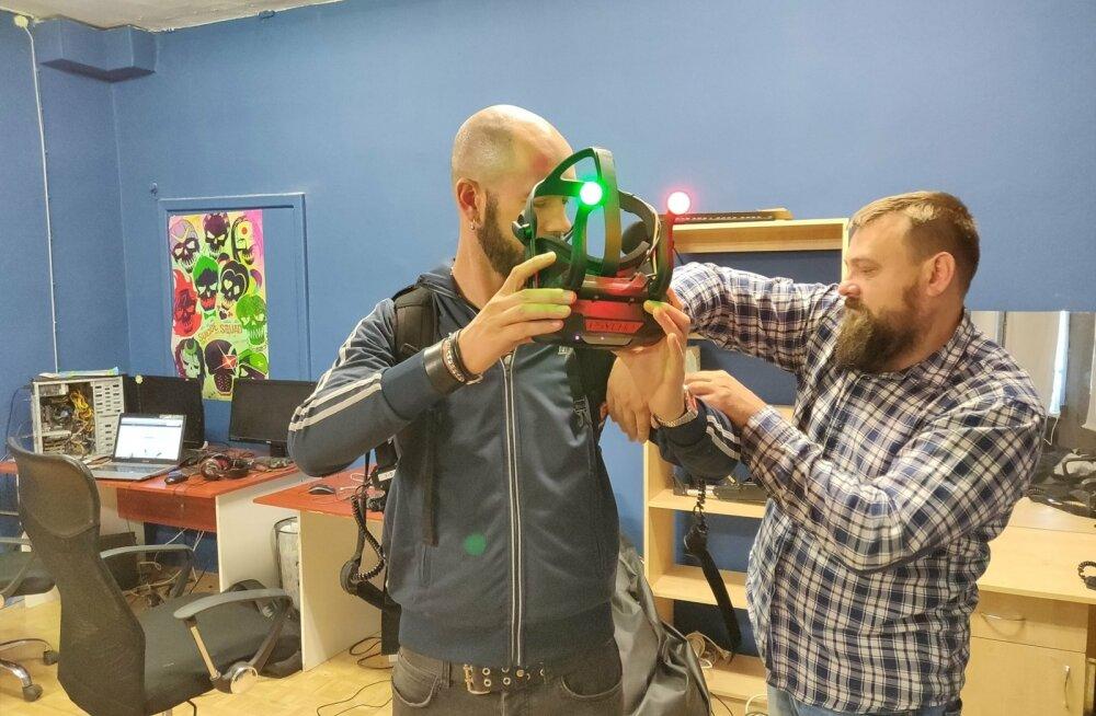 """""""Meil kasutatav virtuaalreaalsuse tehnoloogia on Eesti kõige kaasaegsem,"""" ütleb Narvas asuvas S.H.A.R.K-i animatsioonistuudio juhatuse liige Andrei Samušin."""