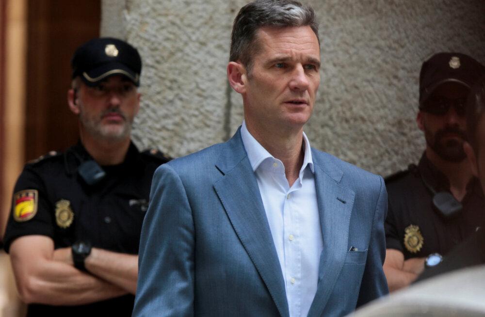 Hispaania kuninga sulist õemees peab aastateks vangi minema