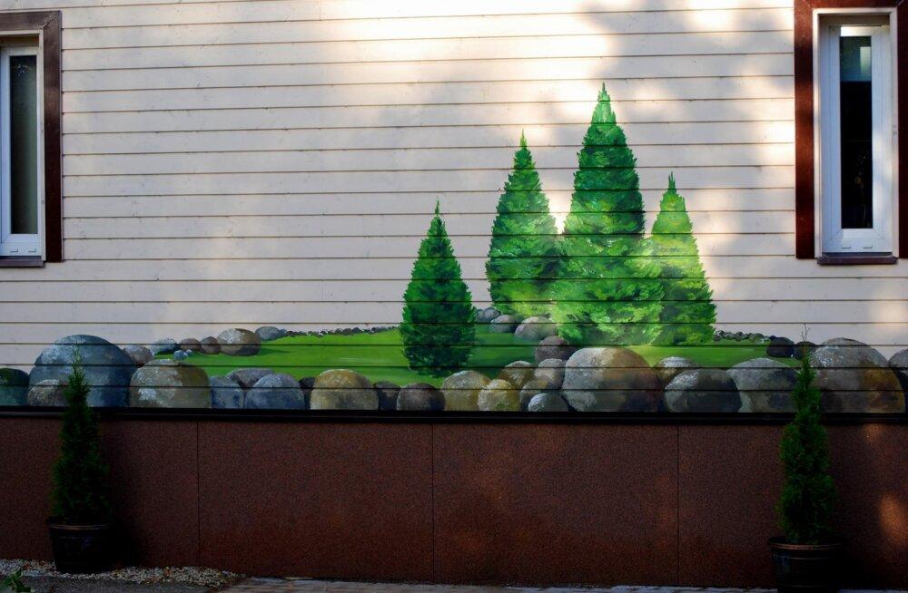 FOTOD | Elumaja maalingud on aiavaate pikenduseks