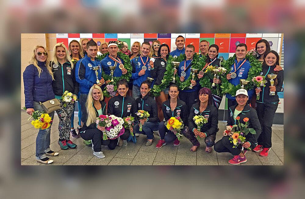 Kulturismi EM-il avastati massiline dopingutarvitamine - Eesti võitis medaleid juurde
