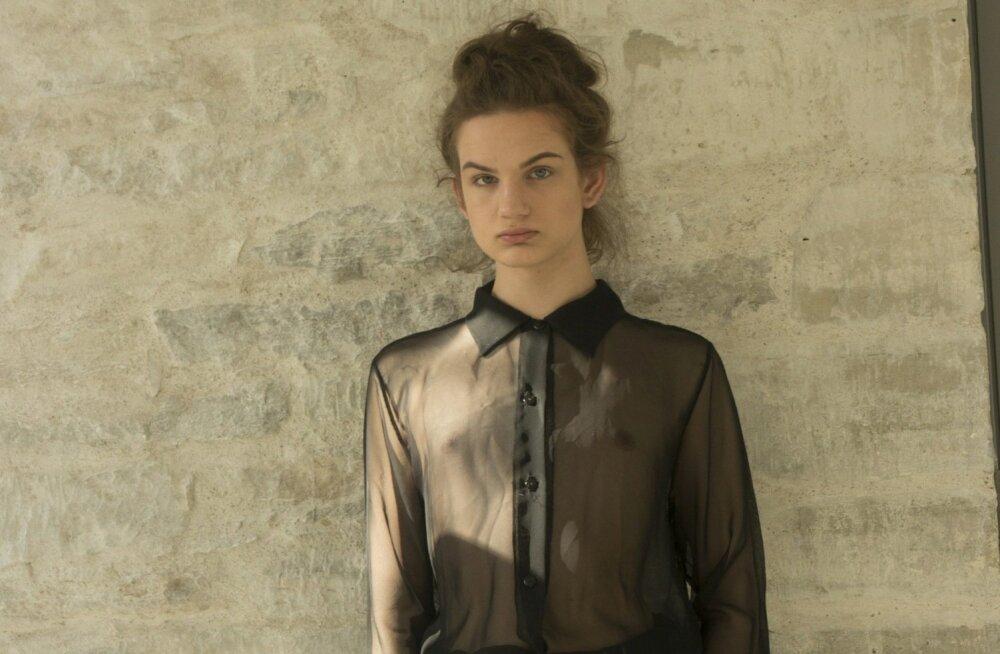 Nüüd õpib Freddy Pajumets Kuressaare ametikoolis kujundamist ja on esimesi kordi modellina üles astunud.