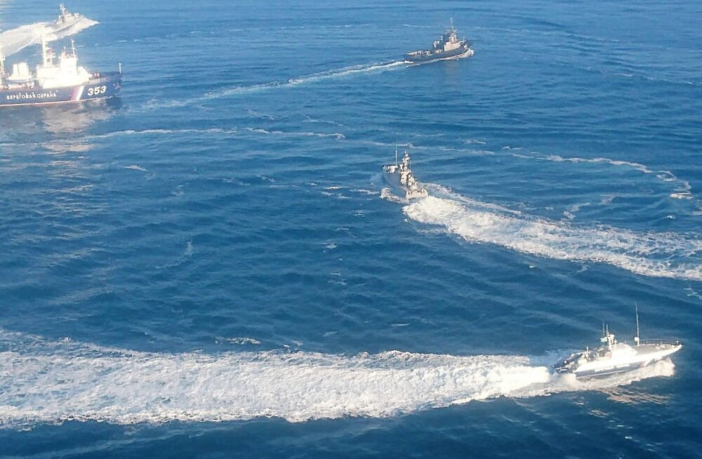 Vene ja Ukraina laevade standoff