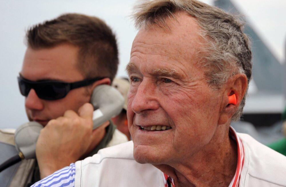 ARGO IDEON: Eesti jääb George H.W. Bushile palju tänu võlgu