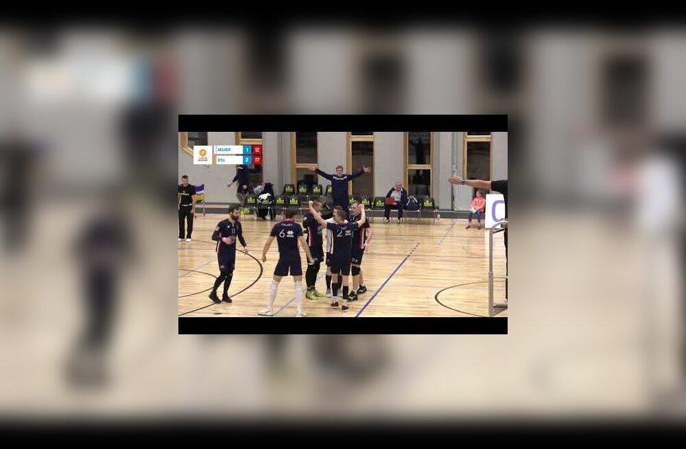 VIDEO | Credit24 võrkpalliliiga eelmise nädala TOP 5: esikohal Pärnu meeste võimas rünnak