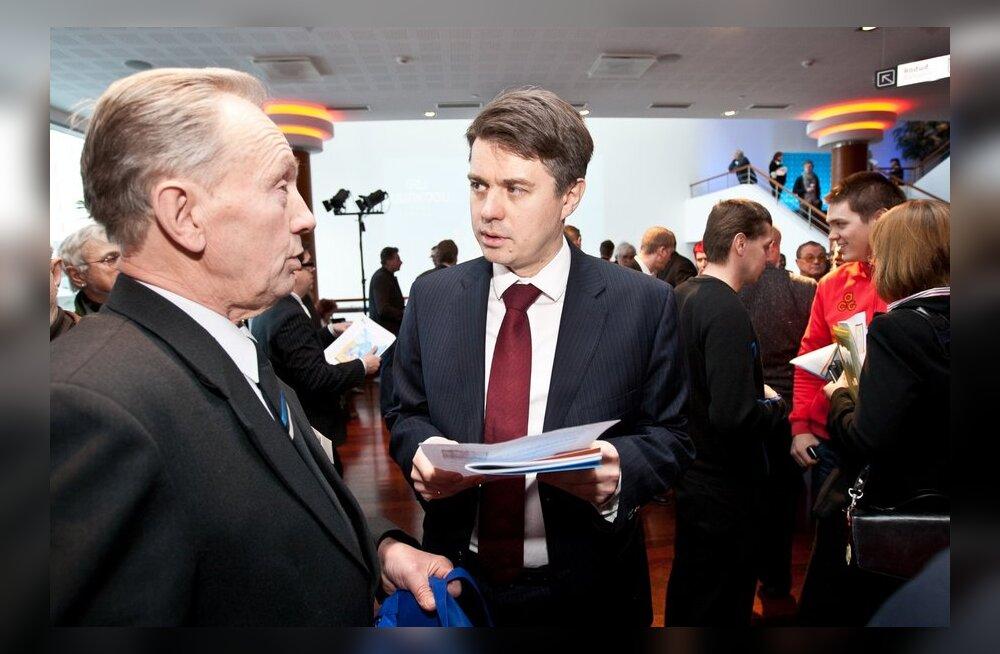 Новым председателем IRL стал Урмас Рейнсалу, Лаар назван почетным председателем