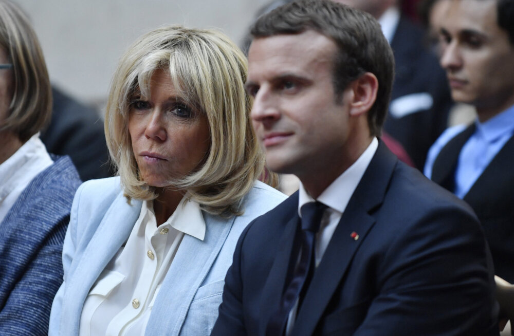 President Macron tahab oma naisele esileedi staatust, vihased prantslased koguvad selle vastu allkirju