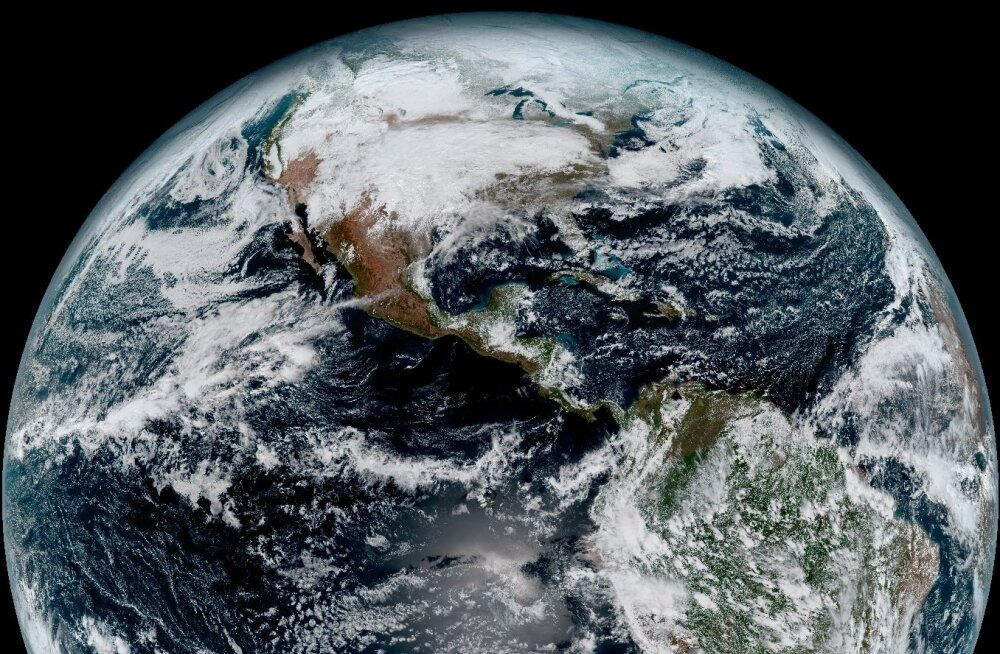 Värske pilk kosmosest: NOAA avaldas kõige detailsema foto Maast läbi aegade