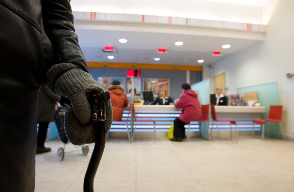 Inimese õiguse normaalsele pensionile tagab sotsiaalmaksu maksmine.