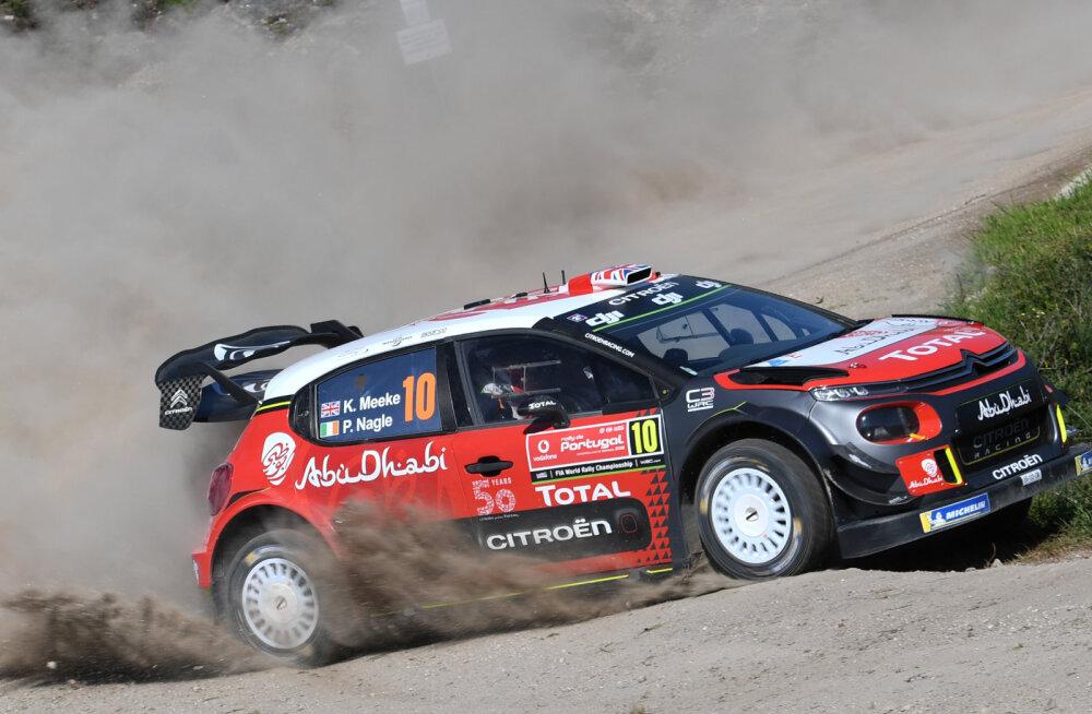 Citroen tegi järsu sammu: Kris Meeke'i jaoks on WRC-hooaeg lõppenud!