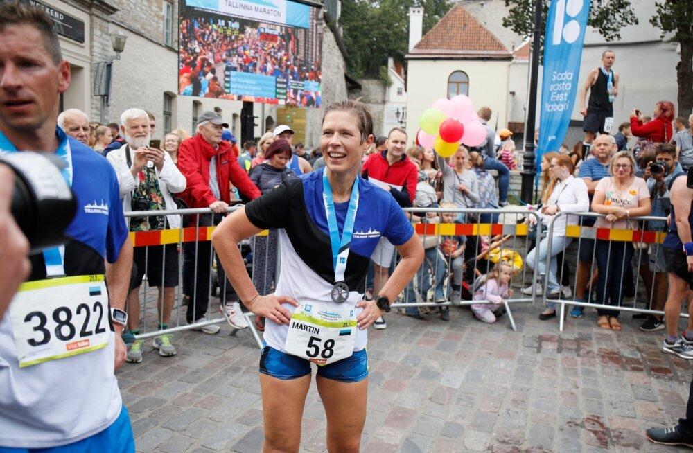 Miks võistles president Kersti Kaljulaid Tallinnas Martini rinnanumbriga?