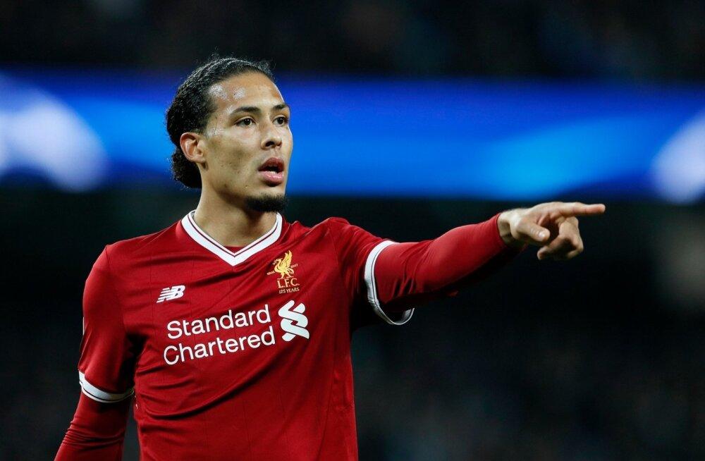 Virgil van Dijk on Liverpooli kaitseliini hästi juhtinud.