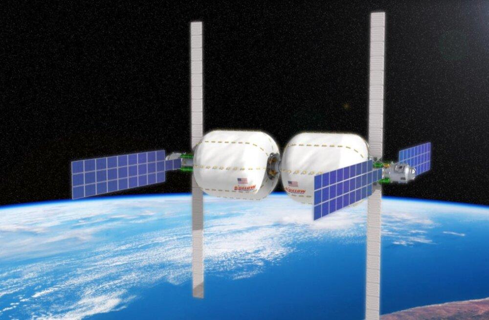 Необычный отель в космической капсуле планируют открыть к 2021 году