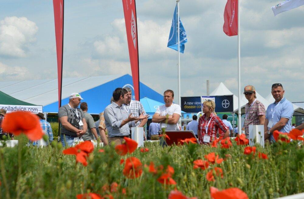 Eesti põllumehed külastasid viljakasvatusmessi Cereals.