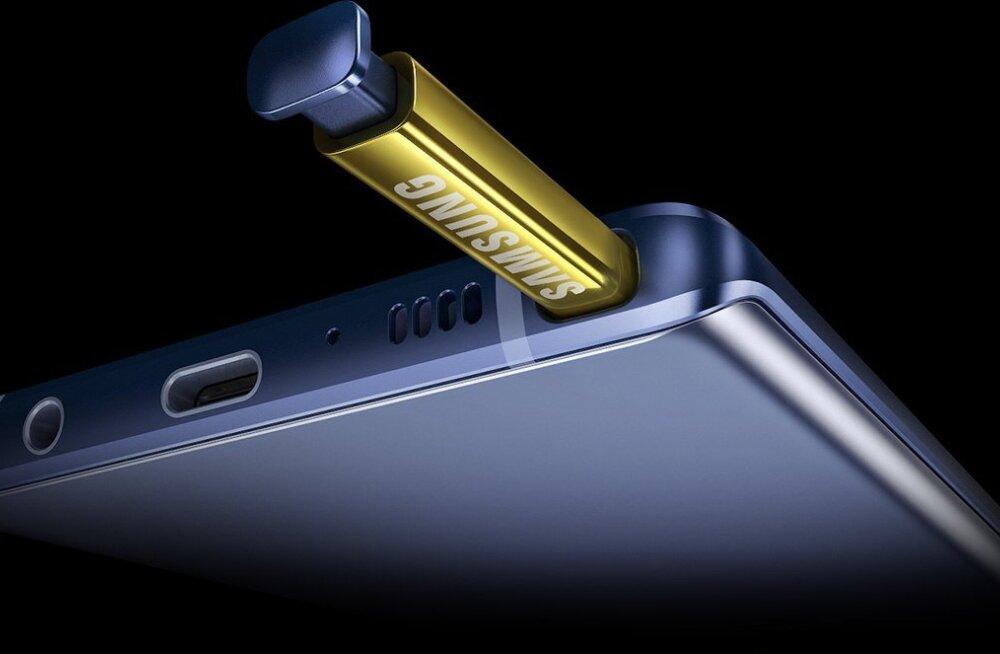 Galaxy Note9 ehk nutiseade, mis suudab sülearvutit asendada