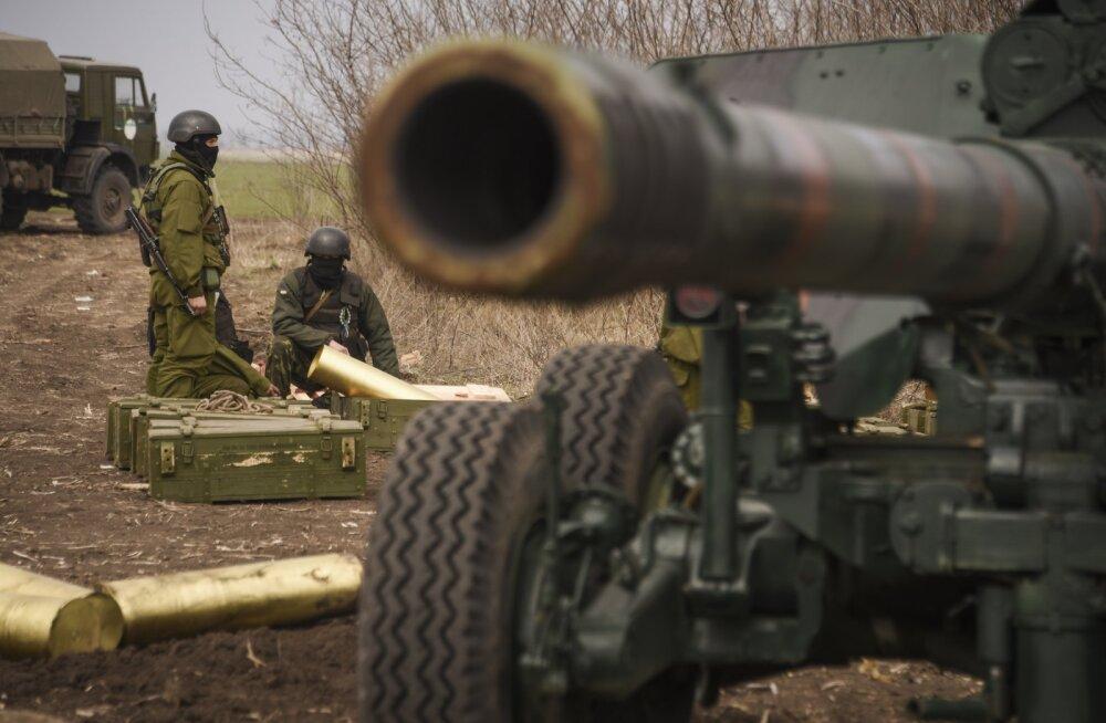 Ukraina raskerelvad on osutunud venelastele raskeks pähkliks