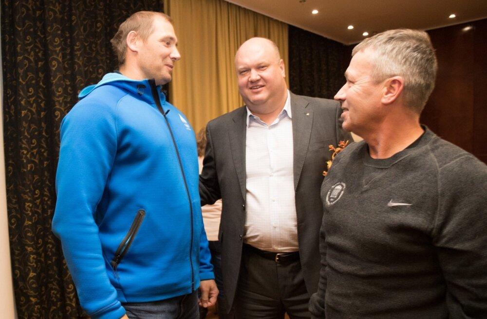 Gerd Kanter, Erich Teigamägi ja Harry Lemberg