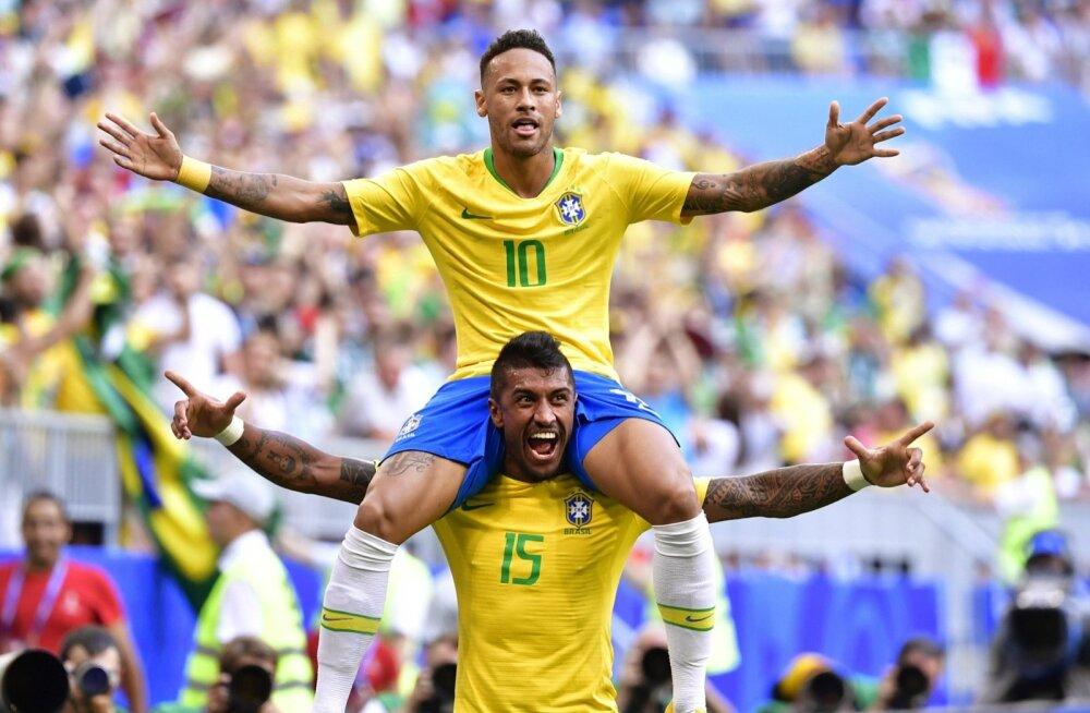 Neymar tüüris Brasiilia veerandfinaali.