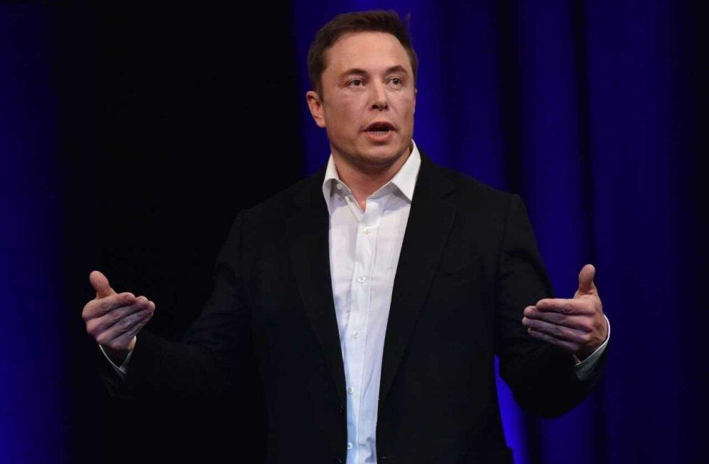 Ärimagnaat ja visionäär Elon Musk.