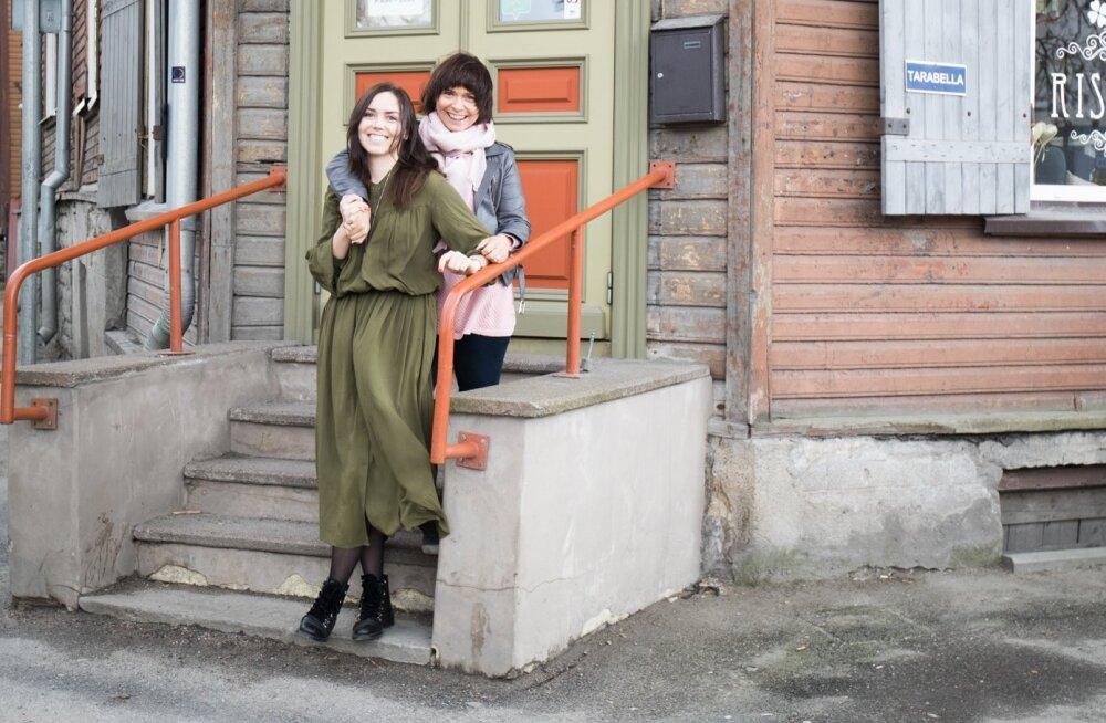 Annika ja Carol Liis Metsla