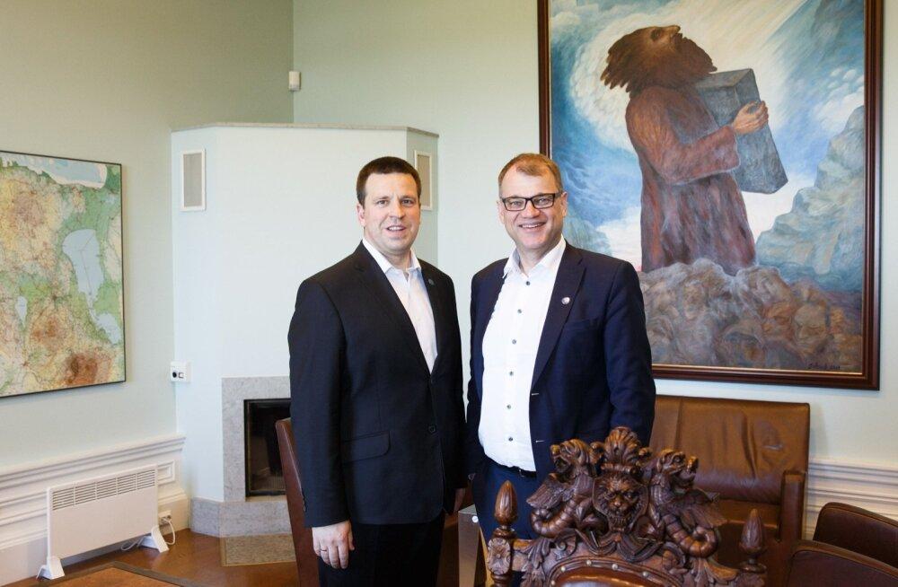 Peaminister Jüri Ratas kohtus Soome peaminister Juha Sipiläga