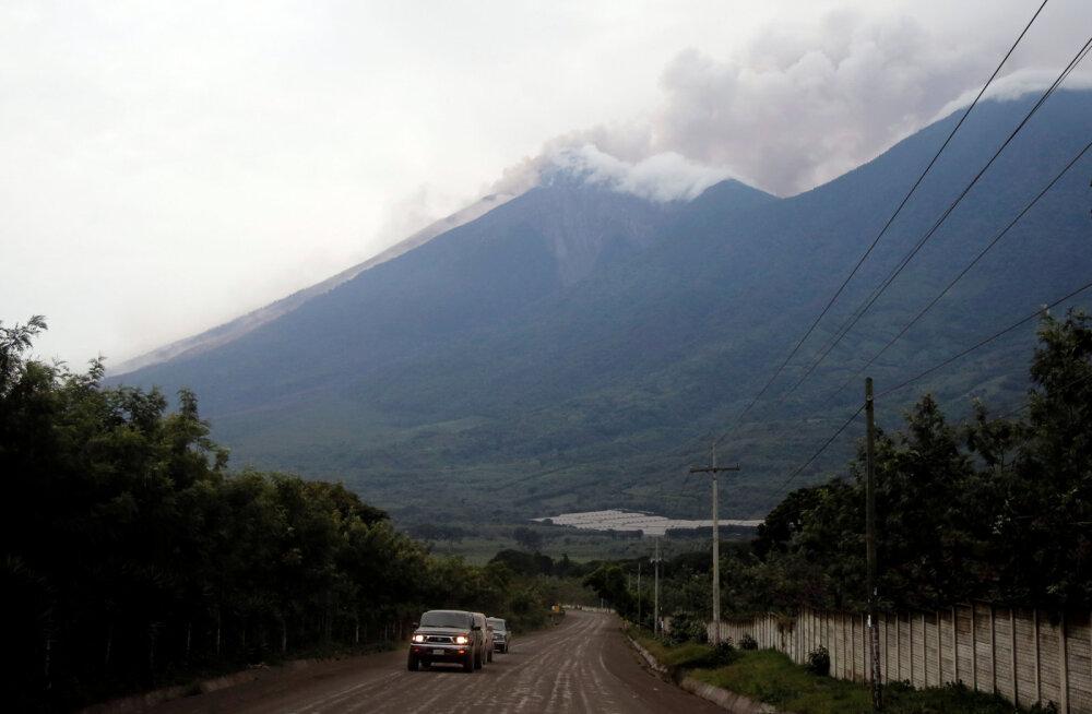 7e5b0ab6c26 Guatemala vulkaanipurske tagajärjel on hukkunud vähemalt 25 inimest
