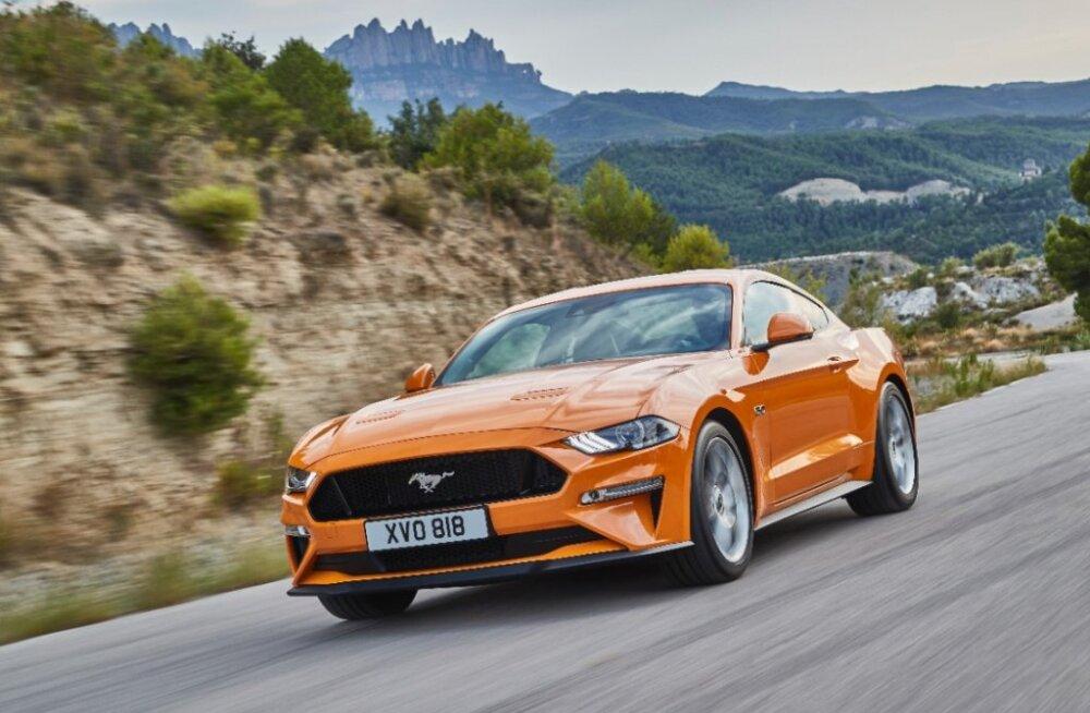 Uus Ford Mustang – kiirem, kaunim, kaasaegsem. Veidi kannatust, varsti ta saabub