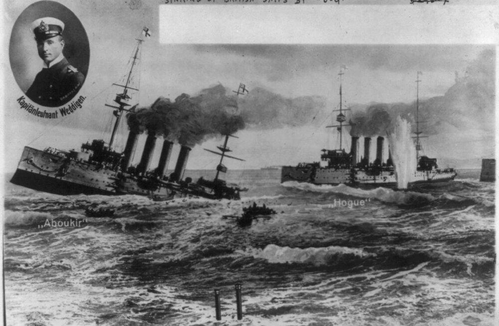 Absurdne võte, millega Briti mereväelastel kästi I ilmasõjas Saksa allveelaevu peatada