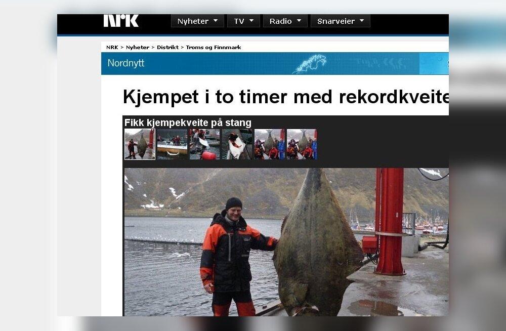 REKORD: Saksa turist püüdis spinninguga 223-kilose kala