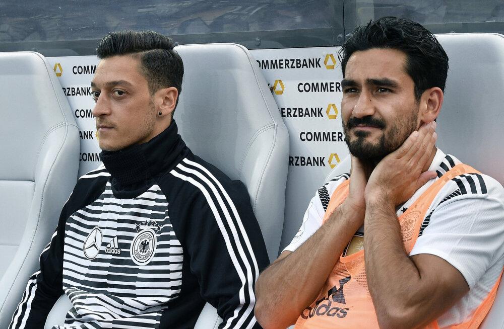 Mesut Özil ja Ilkay Gündogan
